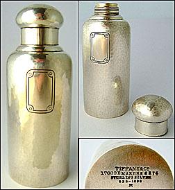 Tiffany sterling Traveling Dresser Bottle