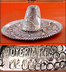 A Pair of sterling <em>Joyeria Real</em> Sombreros