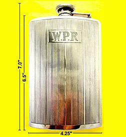 Webster Company sterling Large Gentleman's Flask