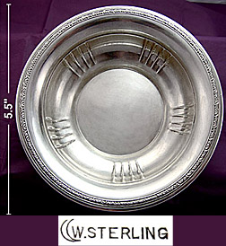 Watrous sterling Candy Dish