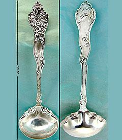 Shiebler Fiorito sterling ladle