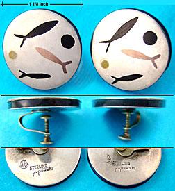 Stella Popowski mixed metal earrings