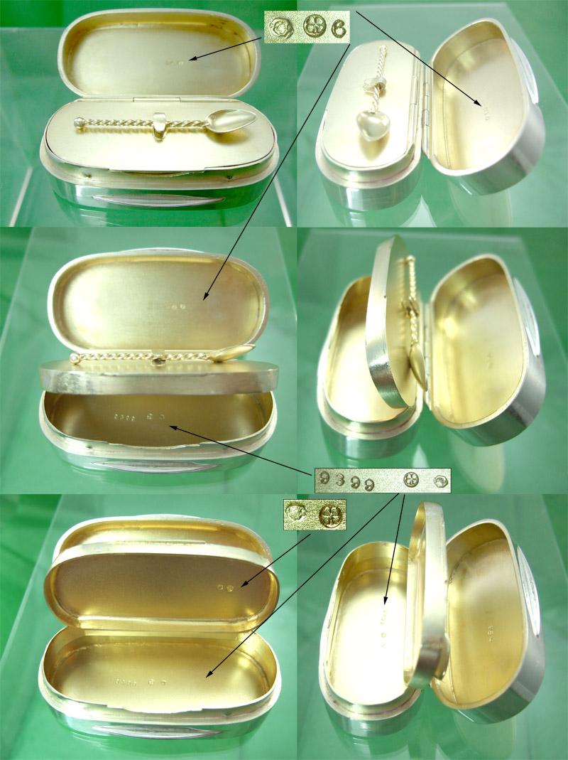 Vienna Snuff Box & Spoon