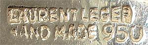 Laurent Léger bracelet marks