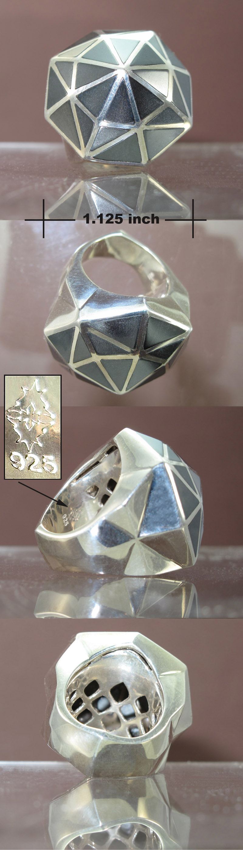 Sterling  Stephen Webster Shattered Ring