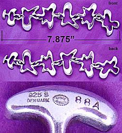 'Biomorphic' Amoeba bracelet