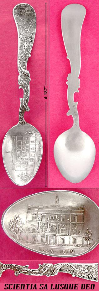 SCIENTIA SA LUSQUE DEO sheibler spoon