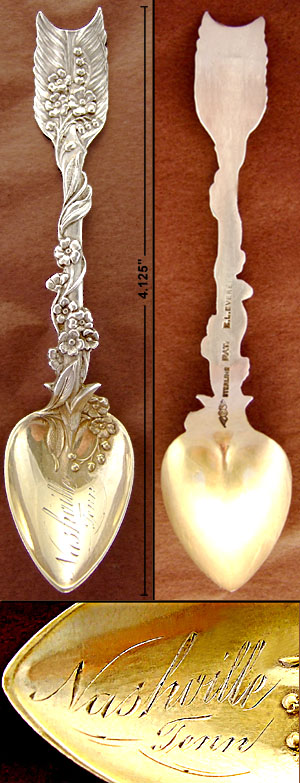 Arrow & Heart Sheibler spoon