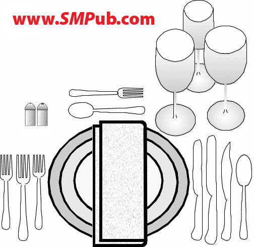 SM Publications - How to Set A Table -