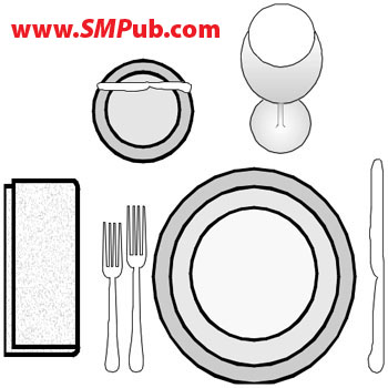 Sm publications how to set a table informal table setting ccuart Images