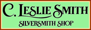 Silversmith and jeweler c leslie smith smp silver salon for C leslie smith jewelry